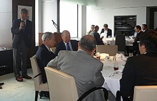 演題:ブラジルにおける日本企業の最近の動静、講師:パウロ・ヨコタ氏 ...